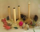 Vintage Candles, Bulbs, Bubble lights, Balls