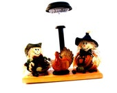 Thanksgiving Scarecrows and turkey decoration