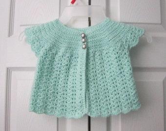 Crochet Swing Set Cardigan & Free Shipping
