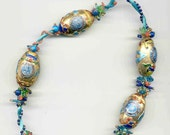 Chinese Cloisonne Necklace