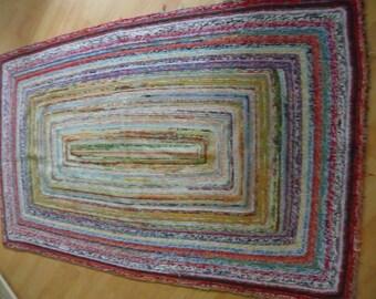 Crochet rug Landhausstyle