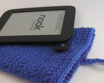 ON SALE!  Kindle Covers - Nook Simple Touch cover Case Sleeve Jacket Bag - Handmade Crochet