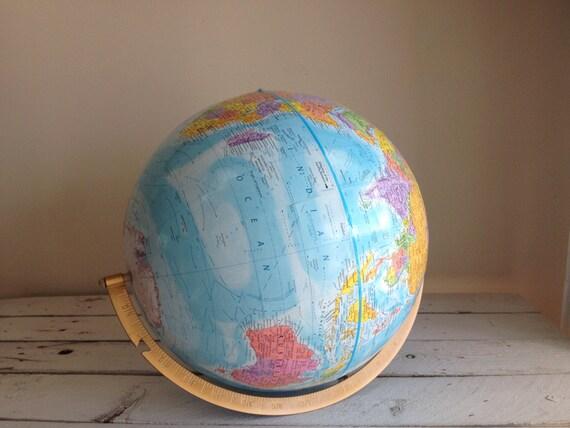 Globemaster world map globe by MellaFina