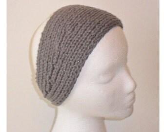 Plain Knit Ear Warmer / Knit Headband / Knit Head Wrap