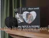 ORIGINAL Countdown Chalkboard Frame-LOVE