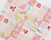 Sunbonnet Sue Patch in Pink Cotton Blend per Yard 23496