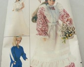 Vintage Butterick Pattern 4687  Wardrobe for Dolls Such as Barbie