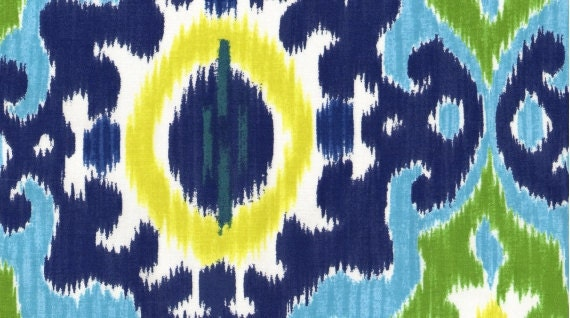 DEAR STELLA--Maasai Mara--Maasai--Blue--100% cotton fabric--price is per yard