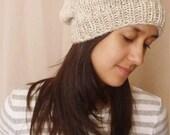 Sandy Hand Knit Beanie Slouchy Hat