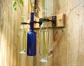 Blue Moon Wine Vase