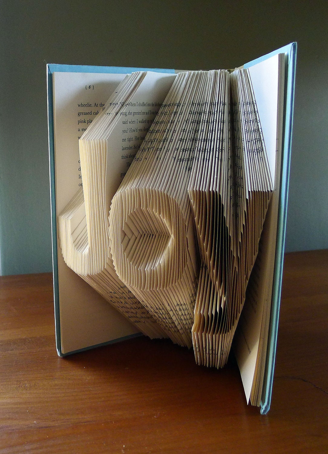 Joy Home Decor Holiday Folded Book Art Decorative