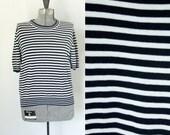 Stripe Sweater- Size Large