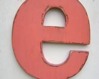 Alphabet Wall letter  shabby chic style nursery decor
