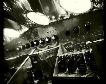 "Vintage World War II Airplane Communication Station, Aviation Photo, 10""x10"" Photograph, Vintage Airplane, Vintage Aircraft, Airplane Decor"