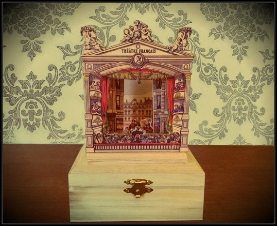 Victorian Miniature Paper Theater