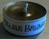 Creme Brulee Scented Tea Light