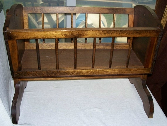 Build Diy Homemade Baby Cradle Plans Pdf Plans Wooden