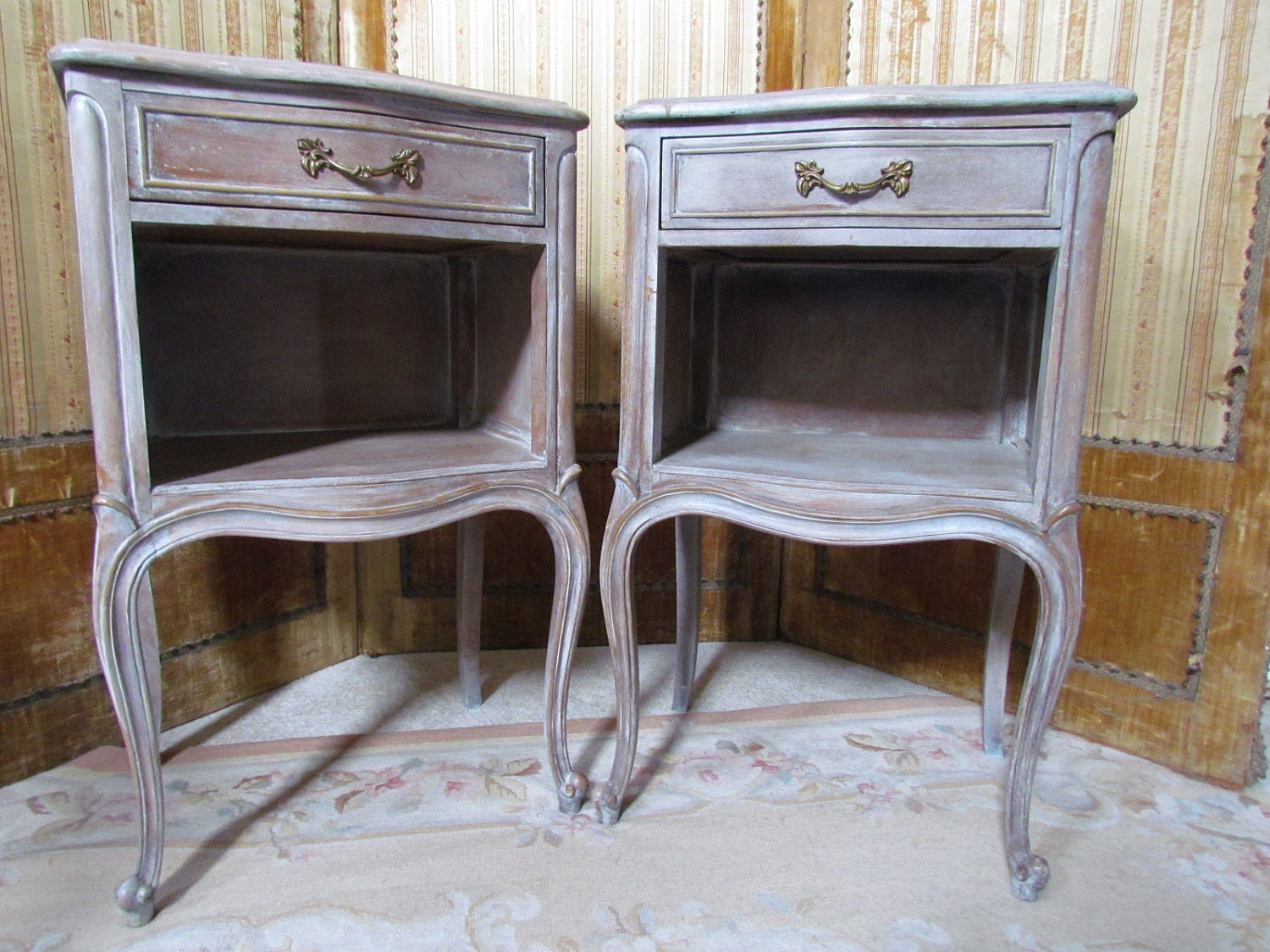 Farmhouse Bed Side Table Night Stands