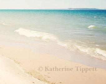 Lake Michigan No. 9 - Landscape - Fine Art Photograph - Katherine Tippett