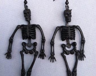 Creepy Skeleton Earrings