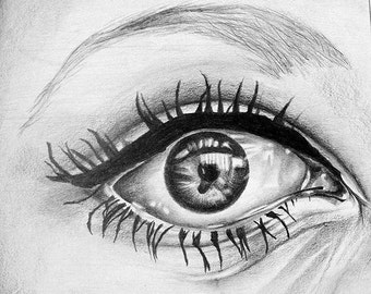 The Eye - Graphite Drawing