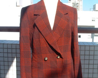 free shipping SALE Louis Feraud jacket made in Germany circa 1970's