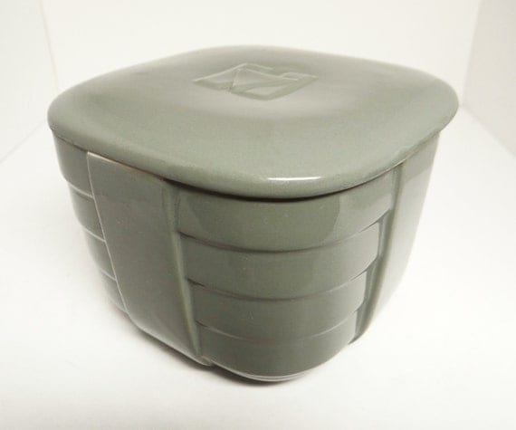 Vintage Hotpoint Refrigerator Container Made By Hall China