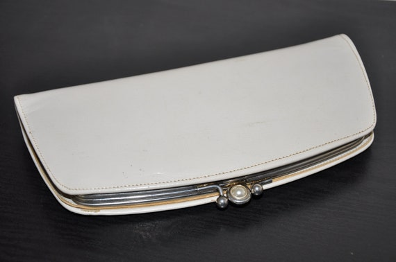 Vintage Leather Clutch