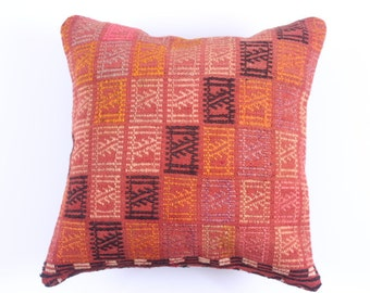 WOOL Pillow Cover - 16'' x 16'' - tribal inspired - decorative pillows - best gift pillows - birthdays