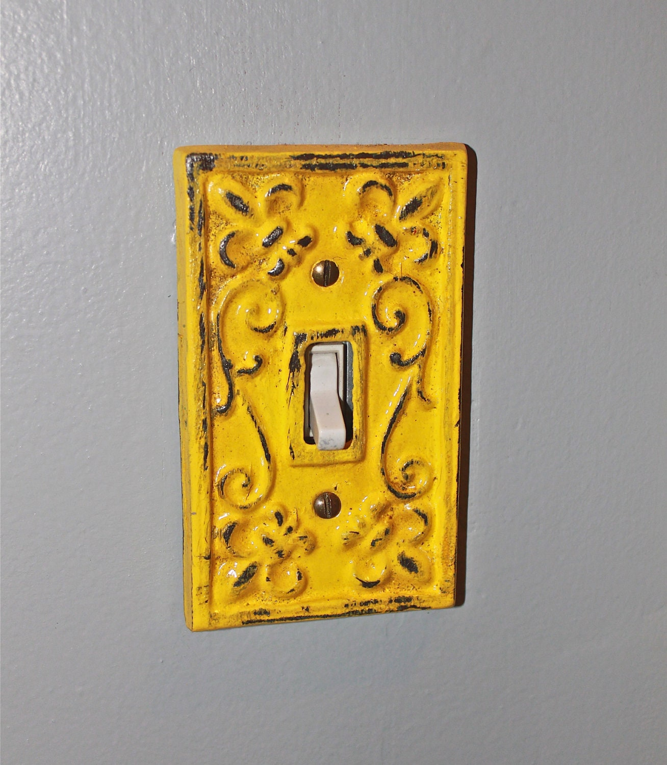 Decorative light switch panels wanker for for Decor light switch