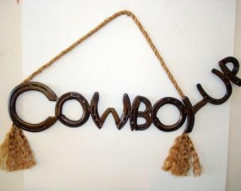 Cowboy-up sign