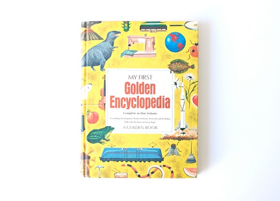 Vintage My First Golden Encyclopedia