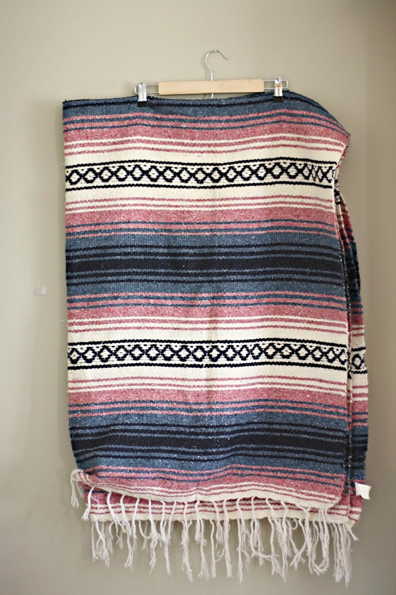 Vintage mexican blanket