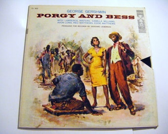 George Gershwin Porgy And Bess Columbia Records LP High Fidelity Record Album