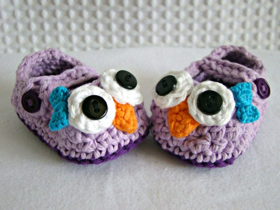 owl baby shoes mary jane crochet booties knit owl shoes