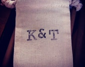Muslin Bags - Customize with your info