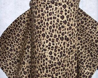Leopard print Nursing Cover