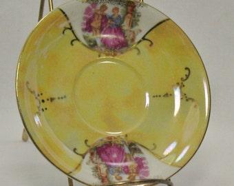 Handpainted porcelain china dish