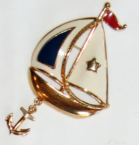 Anchors Away - Avon Brooch