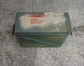 Geocaching Box US Military Surplus Fat 40 Amm Can Great for Storage