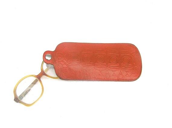 Vintage Leather Case Cozy for Glasses Eyewear Cases Sleeve Retro Eyewear Protection