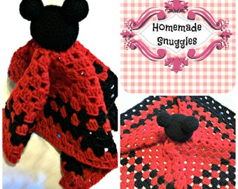 Mickey Mouse Inspired Lovie Pattern - DIGITAL DOWNLOAD