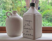 French Ceramic Vinegar Bottle