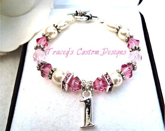 Babys First Birthday Keepsake Bracelet