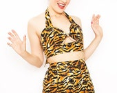 Wild Tiger Top and Shorts Recoco Rock