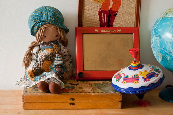 Vintage Holly Hobbie Doll from France