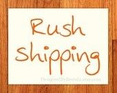 Rush Printing & Shipping Upgrade