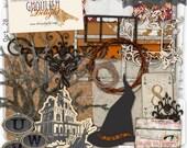 Ghoulish Delight 05 - Vintage Halloween Digital Scrapbooking Kit by Royanna Fritschmann