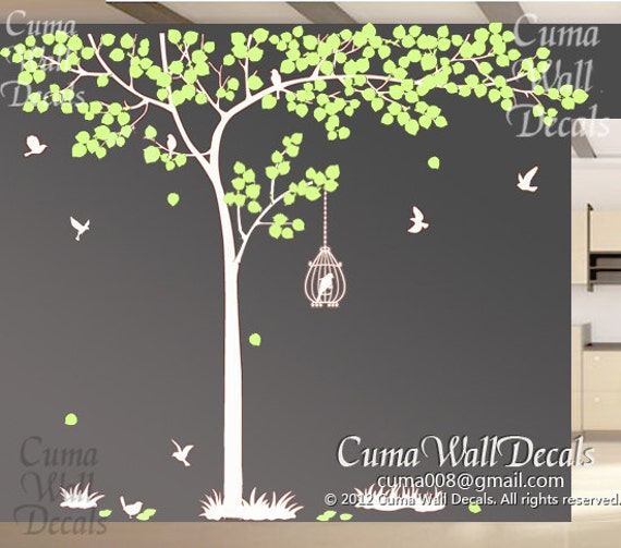 Family tree vinyl wall decal