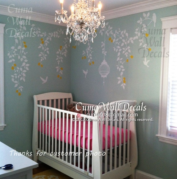 Wall Stickers For Baby Girl Nursery Nursery Wall Decal Baby Girl
